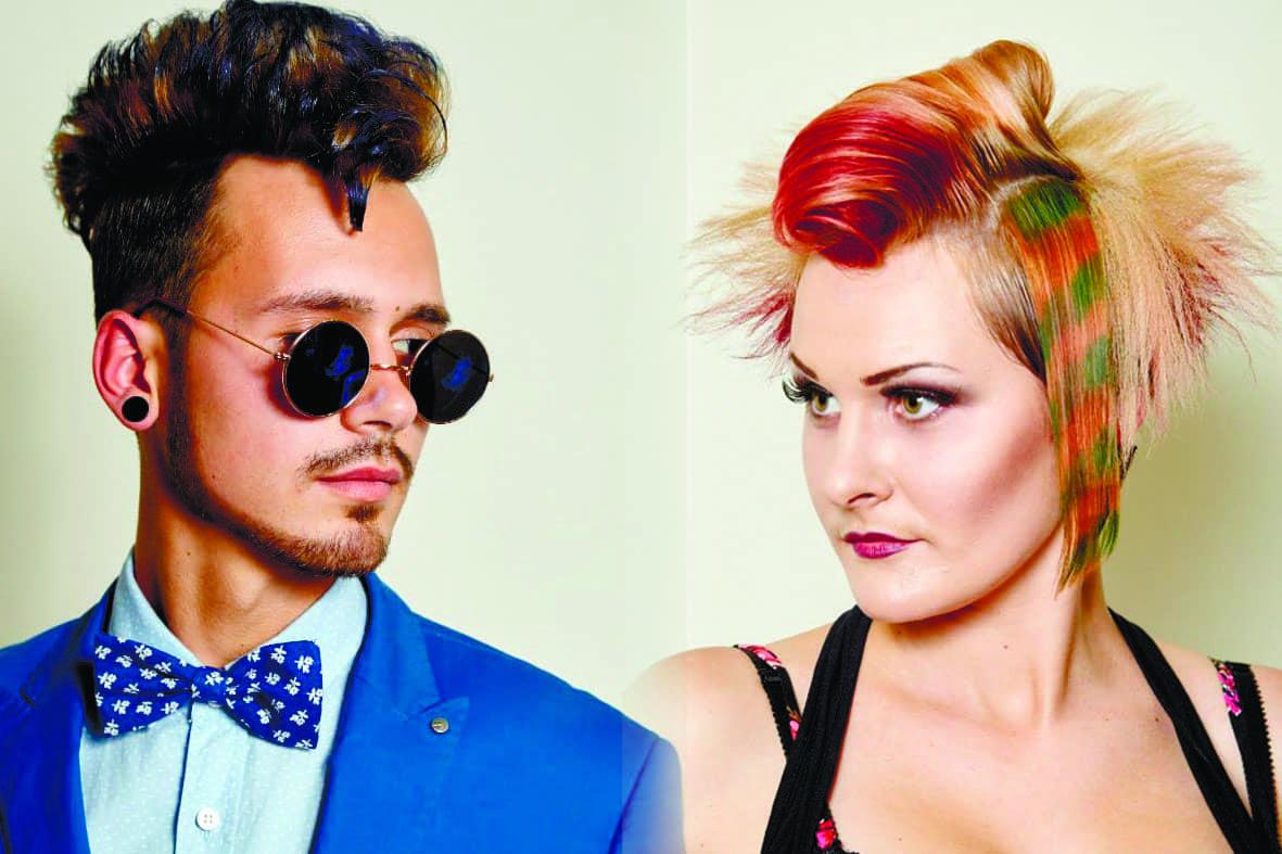 """Чемпіонат з перукарського мистецтва, нігтьової естетики та макіяжу """"Бурштинові зорі -2014"""""""