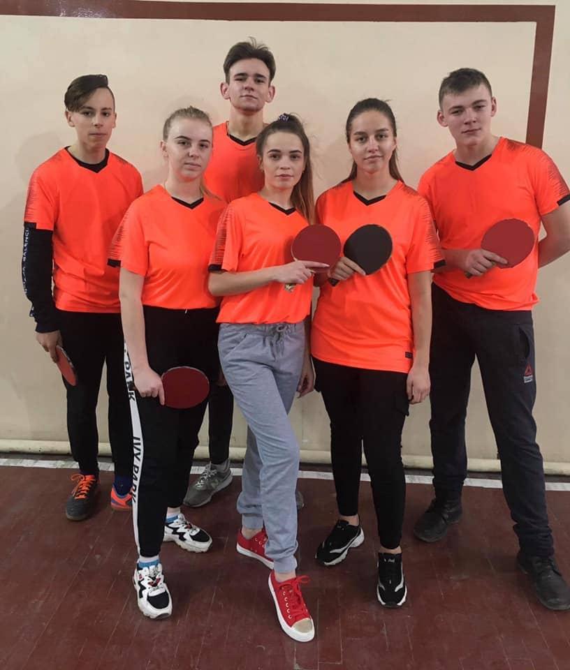 Зональні змагання настільного тенісу