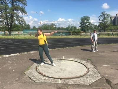 Обласні змагання з легкої атлетики серед учнів ПТНЗ