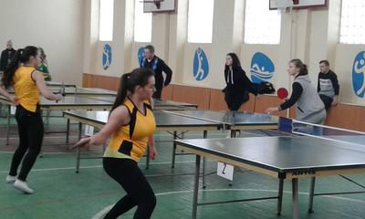 Обласні змагання з настільного тенісу