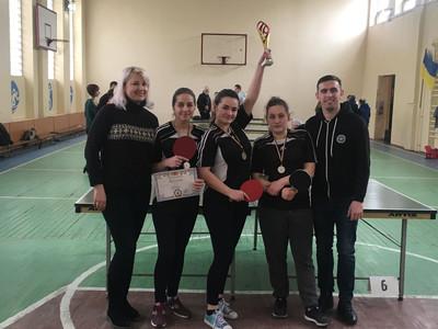 Обласні змагання з настільного тенісу ПТНЗ – 2019