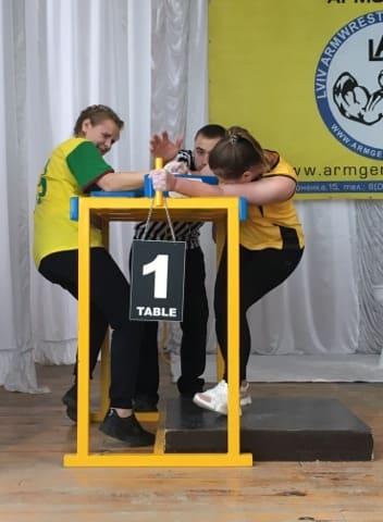 Обласні змагання з армреслінгу серед учнів ПТНЗ